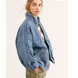 NWT FREE PEOPLE JEAN JACKET